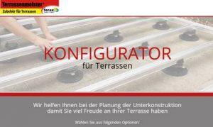 ferax Konfigurator für Terrassen